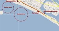 Eco-Mooring Systems used at Belmont Pier in Long Beach, California